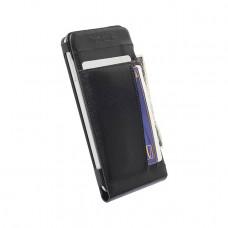 75997 Krusell Kalmar Wallet Case Samsung Galaxy Alpha Black