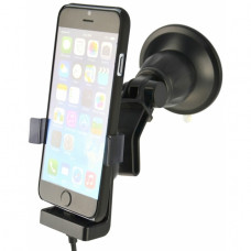 60265 Kram Fix2Car Active Holder Window incl. Griffin Charger Apple iPhone 6/6S/7/8 with Cover