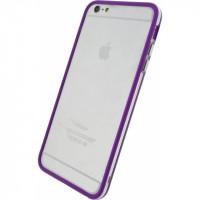 Xccess Bumper Case Apple iPhone 6 Plus/6S Plus Transparent/Purple