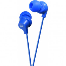 HA-FX10-A JVC Colourful Inner Ear Headphone Azure