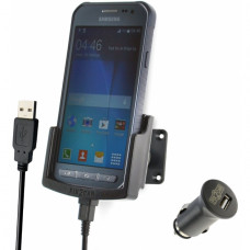 64281 Kram Fix2Car Active Holder incl. 2.1 A Car Charger Samsung Galaxy Xcover 3/VE