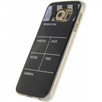 Xccess TPU Case Samsung Galaxy S6 Retro Movie Clapper