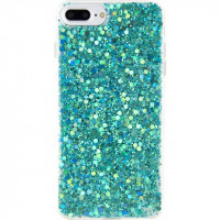 Xccess Sparkling TPU Case Apple iPhone 7 Plus/8 Plus Green