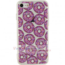 Xccess TPU/PC Case Apple iPhone 7/8 Donut with 3D-Eyes