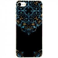 Xccess TPU Case Apple iPhone 7/8 Glitter Oriental Blue