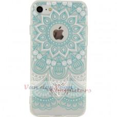 Xccess TPU/PC Case Apple iPhone 7/8 Transparent/Green Oriental