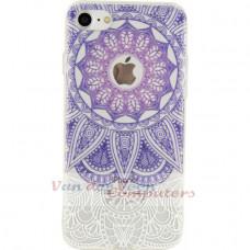Xccess TPU/PC Case Apple iPhone 7/8 Transparent/Purple Oriental