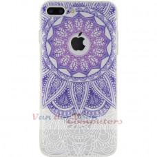 Xccess TPU/PC Case Apple iPhone 7 Plus/8 Plus Transparent/Purple Oriental