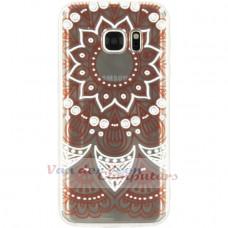 Xccess TPU/PC Case Samsung Galaxy S7 Transparent/Orange Oriental
