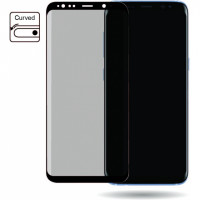 Mobilize Edge-To-Edge Glass Screen Protector Samsung Galaxy S8+ Black