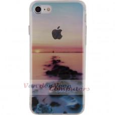 Xccess TPU Case Apple iPhone 7/8 Clear Beach