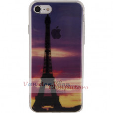 Xccess TPU Case Apple iPhone 7/8 Clear Paris