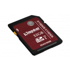 Kingston Technology SDHC UHS-I U3 32GB 32GB SDHC UHS Klasse 3 flashgeheugen