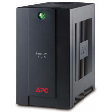 APC Back-UPS uninterruptible power supply (UPS) Line-Interactive 700 VA 390 W 4 AC outlet(s)