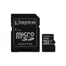 Kingston Technology Canvas Select 16GB MicroSD UHS-I Klasse 10 flashgeheugen