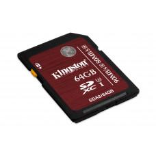 Kingston Technology SDXC UHS-I U3 64GB 64GB SDXC UHS Klasse 3 flashgeheugen