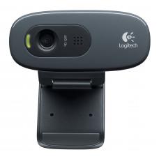 Logitech C270 3MP 1280 x 720Pixels USB 2.0 Zwart webcam