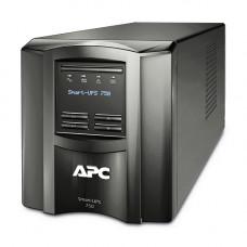 APC Smart-UPS SMT750I - Noodstroomvoeding 6x C13, USB, 750VA