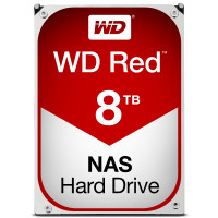 Western Digital Red HDD 8000GB SATA III interne harde schijf