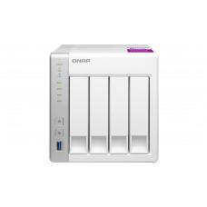 QNAP TS-431P2 NAS Toren Ethernet LAN Wit