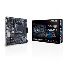 ASUS MB PRIME A320M-K motherboard Socket AM4 Micro ATX AMD A320