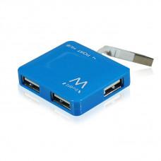 Ewent EW1126 480Mbit/s Blauw hub & concentrator