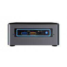 Intel NUC NUC7i3BNHXF 7th gen Intel® Core™ i3 i3-7100U 4 GB DDR4-SDRAM 1000 GB HDD Nettop Black,Grey Mini PC Windows 10 Home