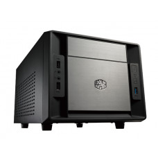 Cooler Master Elite 120 Advanced computerbehuizing kubus Aluminium, Zwart