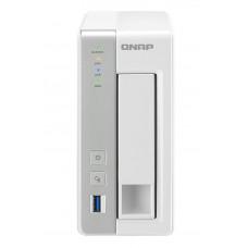 QNAP TS-131P NAS Toren Ethernet LAN Grijs, Wit data-opslag-server