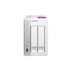 QNAP TS-231P2 Ethernet LAN Toren Wit NAS