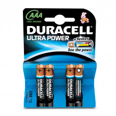 Duracell AAA Ultra Power batterijen (4 stuks)