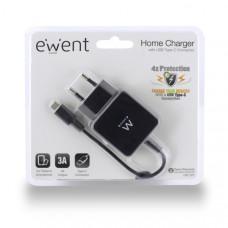 Ewent EW1305 Binnen Zwart oplader voor mobiele apparatuur