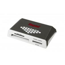 Kingston Technology USB 3.0 High-Speed Media Reader geheugenkaartlezer Grijs, Wit