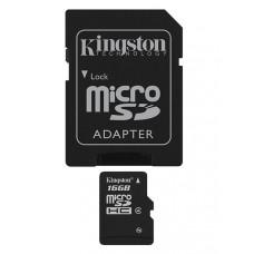 Kingston Technology 16Gb microSDHC 16GB MicroSDHC Flash Klasse 4 flashgeheugen