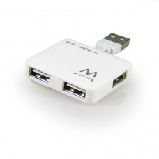 Ewent EW1125 480Mbit/s Wit hub & concentrator