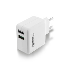 Ewent EW1233 mobile device charger White Indoor