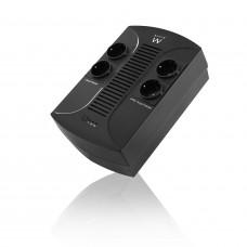 Ewent EW3940 UPS 650 VA 4 AC-uitgang(en) Line-Interactive