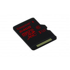Kingston Technology microSDHC/SDXC UHS-I U3 64GB 64GB MicroSDXC UHS Klasse 3 flashgeheugen