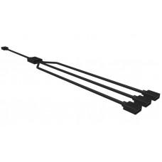 Cooler Master R4-ACCY-RGBS-R2 Kabel splitter/combiner Kabelsplitter Zwart