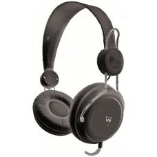 Ewent EW3577 Zwart Supraaural Hoofdband koptelefoon
