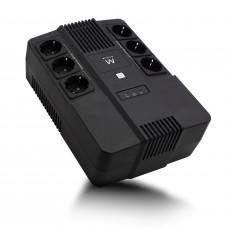 Ewent EW3945 uninterruptible power supply (UPS) Line-Interactive 600 VA 360 W 1 AC outlet(s)
