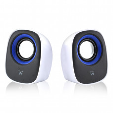 Ewent EW3513 loudspeaker 1-way 5 W Black,Blue,White Wired