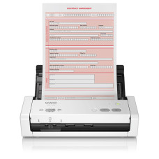 Brother ADS-1200 scanner ADF scanner 600 x 600 DPI A4 Black, White