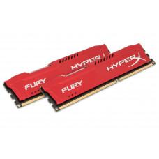 HyperX FURY Red 16GB 1600MHz DDR3 memory module