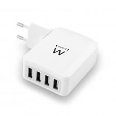 Ewent EW1304 oplader voor mobiele apparatuur Binnen Wit
