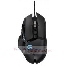 Logitech G502 muis USB Optisch 12000 DPI Rechtshandig Zwart