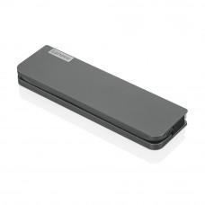 Lenovo USB-C Mini Dock Wired USB 3.2 Gen 1 (3.1 Gen 1) Type-C Grey