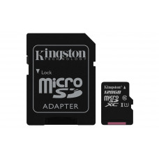 Kingston Technology Canvas Select 128GB MicroSD UHS-I Klasse 10 flashgeheugen
