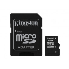 Kingston Technology 8GB microSDHC 8GB MicroSD Flash flashgeheugen