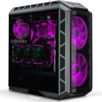 Cooler Master MasterCase H500P Midi-Toren Zwart, Metallic computerbehuizing